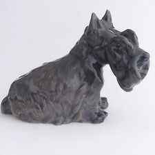 SCOTTISH TERRIER Scottie Royal Copenhagen vintage DOG Figurina ornamentale