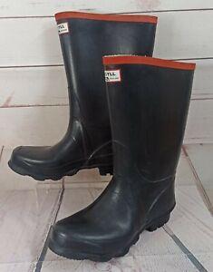 Hunter Argyll Full Knee Wellington Boots, Black, UK 7 EU 40/41