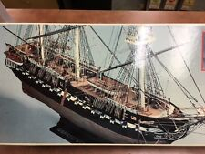 Mamoli Uss Constitution 1:93 Scale Wood Model Kit