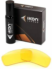 Polarized IKON Replacement Lenses For Spy Kash Sunglasses HD Yellow