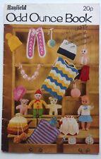 Hayfield- Odd Ounce - Vintage Knitting Pattern Book