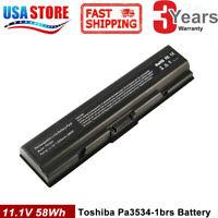Battery For Toshiba Satellite PA3534U-1BRS A200 A300 A205 A305 A505 L305 L505