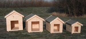 Wooden Dog Kennel Apex Winter Warm House Weather Proof Shelter Outdoor