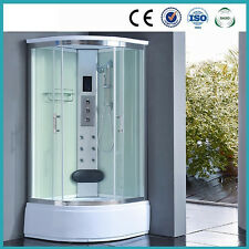 Kokss 8004-AS Pure Steam Shower w/Touch Screen & LED Lights by IPAX Cabinets