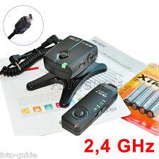 2,4 GHz Fernauslöser Auslöser past zur Nikon Anschluss D7200 D5600 D750 D90