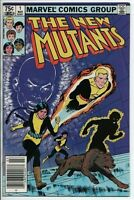 Marvel Comics The New Mutants #1 1983 First Karma. Canadian price variant . VF-