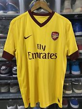 Nike Arsenal FC Andrei Arshavin Away Jersey / Shirt 2010-2011 sz L EPL Mint