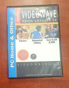 Roxio VideoWave Movie Creator SE Video Capture & Editing PC Home & Office