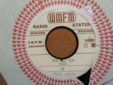 PROMO RADIO WMFM 45 RECORD/CYRIL SMITH/HEAD TUCKED UNDER HER ARM/OLD SOW SONG/