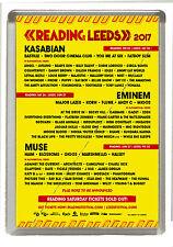 Reading Leeds  Music Festival 2017 Fridge Magnet Large 90 mm x 60 mm