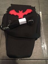 NEW Black Red Coffin Bat Backpack Casket Purse Alchemy Goth Punk Vampire Dracula