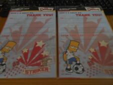 40 Bart Simpson The Simpsons Thank you cards