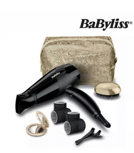 NEW BaByliss The Glamour Collection 2000W Lightweight Hair Dryer Gift Set