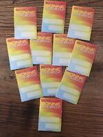 SCHILLER - 11 Original Textil Klebe-Pässe der Sonne Deutschland Tour 2012