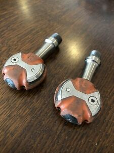 Speedplay Zero Titanium Pedals RED. Very Good Condition But Used 165grams