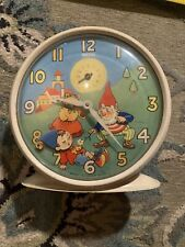 Smiths Kids Children Alarm Clock White Gnome Bear