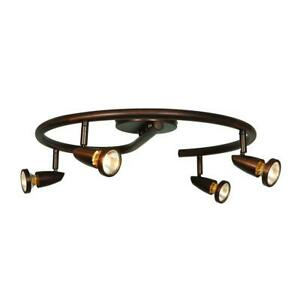 Access Lighting Mirage 4-Light Bronze Cluster Spotlight
