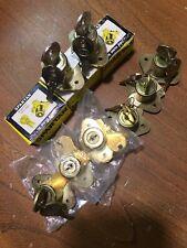 Brass Drawer Lock 7/8 Inch Corbin Spartan Eagle Lot Of 11