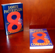 The 8th Confession, James Patterson ** Signed 1st Ed. + Uncorrected Proof * ARC