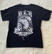Official Black Label Society Warpath Crazy Horse Tour Shirt 2011 Sz M