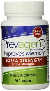 Prevagen Extra Strength 30 Caps Brand New Sealed Bottle Sealed Box