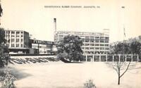 PA, Jeannette  PENNSYLVANIA RUBBER COMPANY Westmoreland Co  c1940's B&W Postcard