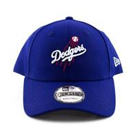 Los Angeles Dodgers New Era Cap MLB 9Forty Curved Brim Hat in Royal Blue