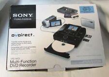 "SONY VRD-MC6 DVD RECORDER DVDIRECT MULTI-FUNCTION AVCHD 2.7"" SCREEN"