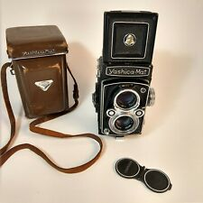 Yashica Mat Copal MXV TLR Film Camera 80mm 1:3.5 with Lens/Case - Made in Japan