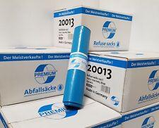 250 Müllsacke / 700x1100 / Premium / blau / 10 Rll a`25 Stk / Deiss20013 / 1 Krt