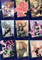 Marvel Women of Marvel Series 2 Sapphire Parallel Card Set 90 Cards