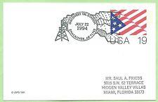 USA Postkarte GS SSt. Discovery Oil Sta. 1994, Smackover, Petroleum