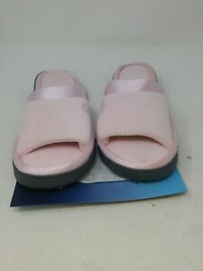 Isotoner Women's Slippers Pink Size 9.5-10US