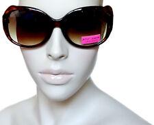 Betsey Johnson Women's Sunglasses Tortoise Animal Print Frames Eyewear Glasses