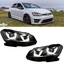 Led DRL Headlights lamps For 2008-2014 Assembly VW Volkswagen Golf MK6 GTI