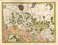 SACHSEN - JÜTERBOG - BARUTH - WITTENBERG  Le Rouge 1759