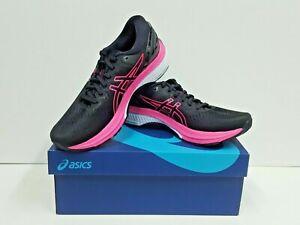 asics GEL-KAYANO 27 Women's Running Shoes Size 7.5 (Black/Pink Glo) NEW