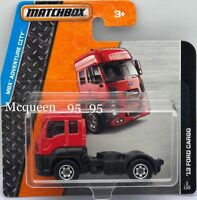 MATCHBOX 2015 MBX ADVENTURE CITY '13 FORD CARGO RED