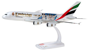 Emirates A380 Real Madrid Herpa Plastic Model Aircraft 1/250 Scale HE612142