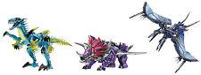 Transformers: età di estinzione DINOROBOT SCENDETE Slash + mitragliate + SLUG Action Figure Nuovo