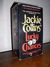 Jackie Collins' Lucky Chances starring Nicollette Sheridan (1995,VHS,3-Tape Set)