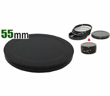 55MM Screw-in FILTER STACK CAP SET Metal Filter Case Quality Protect Filter