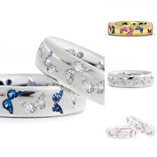 Charming Engagement  Rings Romance Women Gifts Jewelry Butterfly Fashion Rings