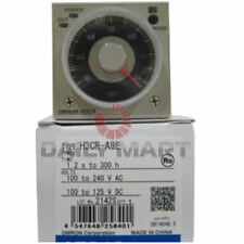 Omron relays ebay new omron h3cr a8e analog set solid state timer 100240vac100 publicscrutiny Choice Image