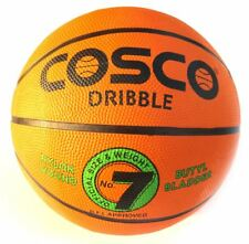 Cosco Dribble Basket Ball - Size 7 Basketball Official Size & Weight rubber grip