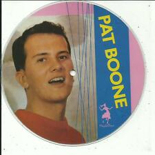 7'PICTURE Pat Boone  Bernadine/April Love  50's GOLD/Maybellene 4