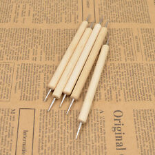 5 Pcs DIY Leather Craft Tool Depict Pen Leather Engraving Supplies Handmade Tool