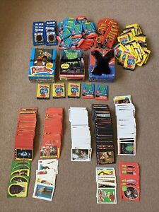 Joblot Of Topps Trading Cards, Packets & Boxes Alien, Indiana, Turtles, Gremlins