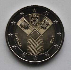 LATVIA - 2 € Euro common commemorative coin 2018 - Baltic states 100 UNC