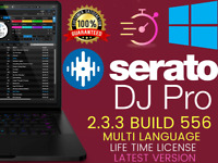 Serato DJ Pro 2.3.3 Build 556🎵 Latest 2020🔥Windows🔑Lifetime⚡ Instant Delivery